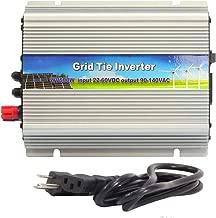 iMeshbean 500W Grid Tie MPPT Power Inverter Converter for Solar Panel and Wind Turbine Generator System Stackable Pure Sine Wave USA (500W Solar Input 24v - 50v DC)