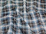 Erkunden Strukturierte Überprüfen Tweed Coat Gewicht