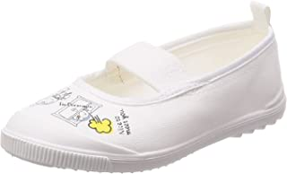 [月星] 室内鞋 儿童 鞋 哆啦A梦 角色 宽松 *防臭 DRM芭蕾01