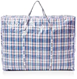 Zuvo Xtra <span class='highlight'>Large</span> Strong and Durable Jumbo Bags (5 Pack) -<span class='highlight'>for</span> Laundry/Shopping/Moving/<span class='highlight'>Storage</span>-Zipped and Reusable, Nylon, Different