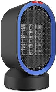 Yuan Dun'er Calefactor Aire Caliente y Frio,Calentador de Ventilador eléctrico portátil 600W Calentador de Espacio Personal con Viento Caliente y Natural