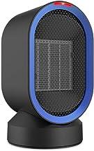 Yuan Dun'er Calefactor Aire Caliente bajo Consumo,Calentador de Ventilador eléctrico portátil Calentador de Espacio Personal con Viento Caliente y Natural