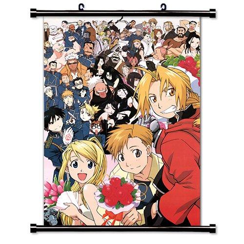 Fullmetal Alchemist Anime Fabric Wall Scroll Poster (32' X 45') Inches