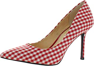 Katy Perry The Sissy Pointed Toe Stiletto Heel Pump Red Multi Size