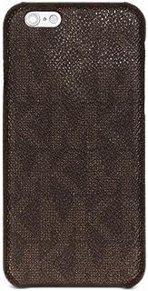 Michael Kors 39F5LELL1B-200 Bryant Wrap Around Phone Cover for Men - Brown