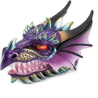 Smart Living Company Ferocious Mythical Dragon Head Treasure Trinket Box