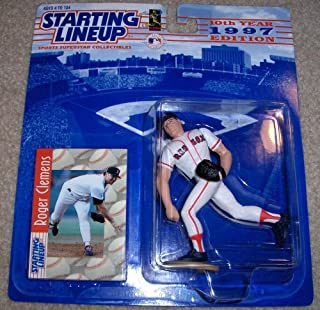 Starting Lineup 1997 - Kenner / Hasbro MLB - Roger Clemens #21 Action Figure - Boston Red Sox - w/ Trading Card - Out of Production - New - Mint - Rare - Limited Edition - Collectible