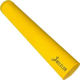 Milelon フォームローラー ヨガポール エクササイズポールストレッチ 筋膜セルフケアポール トレーニングポール