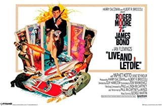 Pyramid America James Bond Live and Let Die Cool Wall Decor Art Print Poster 12x18