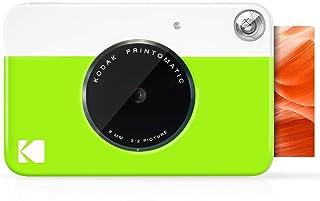 كاميرا رقمية مطبوعة فورية من كوداك برينتماتيك (أخضر نيون)، طباعة بالألوان الكاملة على ورق صور لزج 2×3 - ذكريات الطباعة على...