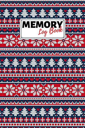 Memory Log Book Journal: Glamping Keepsake Memory Book with Prompts to Write in for Travel Adventure Notes, Record Memories Every Day of the Year! - Ugly Christmas Cover Diary