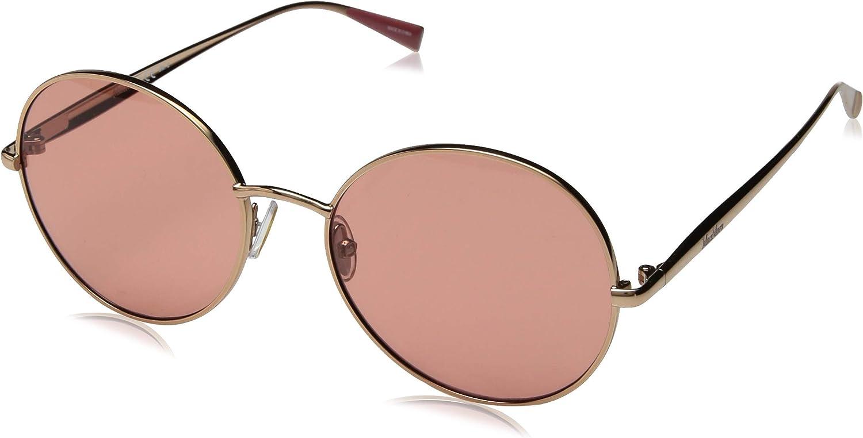 Max Mara Women's Mm Ilde V Round Sunglasses gold Copper 57 mm