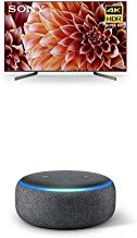 $1347 » Sony XBR65X900F 65-Inch 4K Ultra HD Smart LED TV with Alexa Compatibilityand Echo Dot (3rd Gen) - Smart Speaker with Alexa - Charcoal
