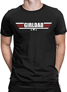 Girl Dad Father's Day Funny T-Shirt Appreciation Gift from Wife Tees Tops for Men