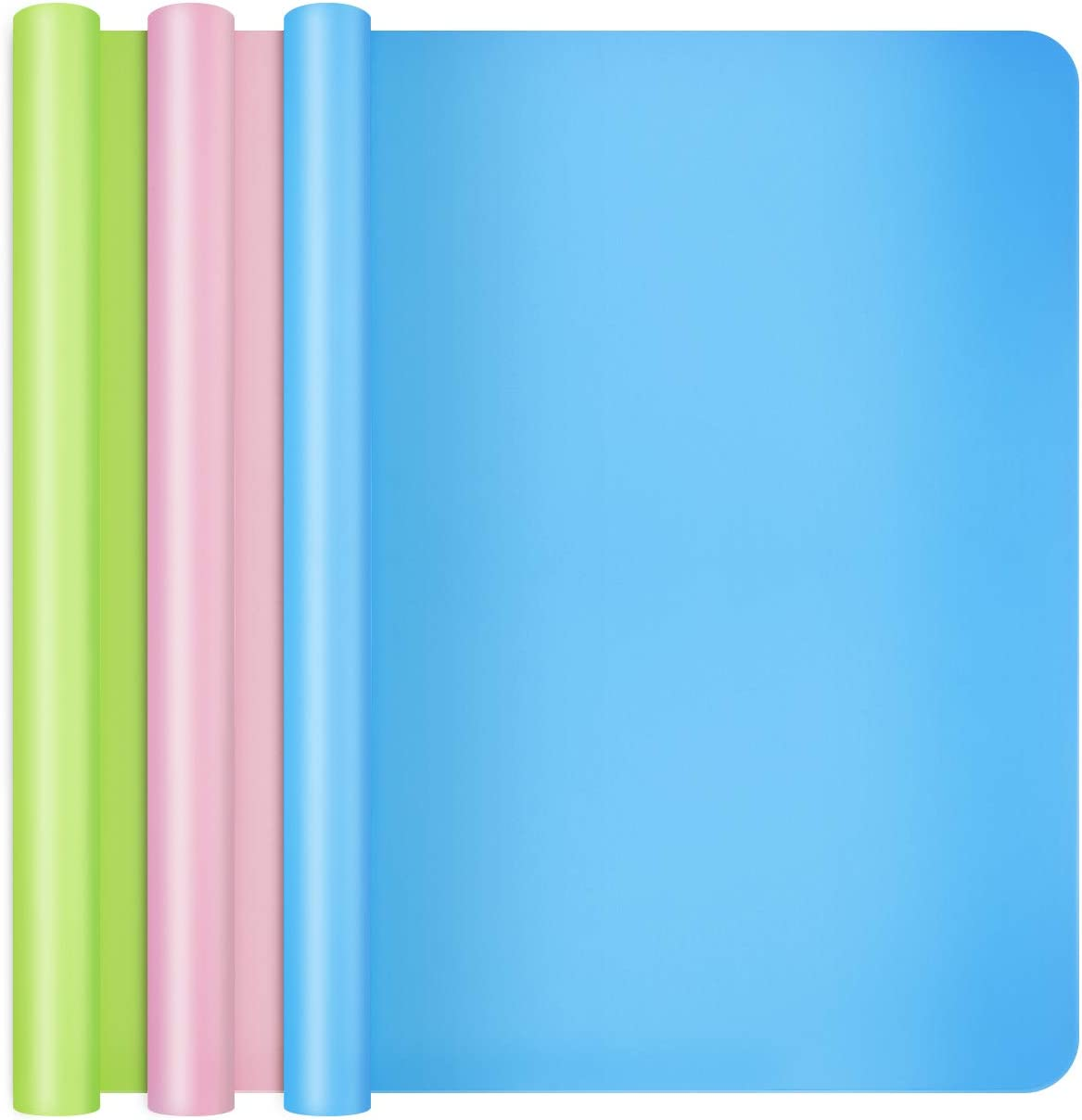 Large Max 78% OFF Silicone Sheet for Crafts Gartful by 15.7 PCS Save money 3 19.7 inch