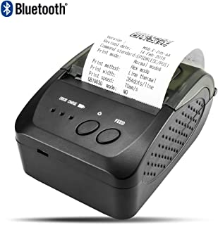 NETUM Wireless Bluetooth Thermal Receipt Printer, Portable Personal Bill Printer 2 Inches 58mm Mini USB POS Printer for Restaurant Sales Retail Compatible with Android/iOS/PC/Windows/Linux