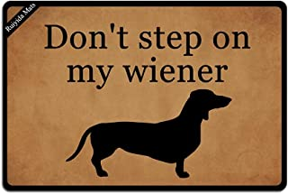 Best sausage dog welcome mat Reviews