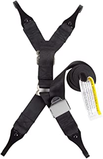 Safe Traffic System Dual Tether Kit Accessory, Black, One Size