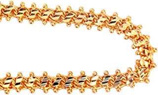 BMCGold Plated Traditional Chain for Women(24 inches) Combo of 2