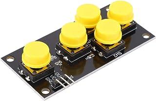 Okuyonic Module de Bouton 2 pièces Carte de développement Module de clé à 5 Boutons pour l'industrie pour Factroy pour Le ...
