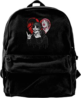 Canvas Laptop Backpack Lil Betrayed Xan for School Back Pack for Men Women