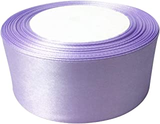 Prasent 40 mm x 25 m Rouleau de Ruban Satin Double Face Violet