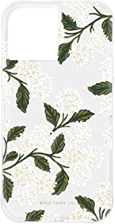 Rifle Paper Co - Case for iPhone 12 Pro Max (5G) - 10 ft Drop Protection - 6.7 Inch - Hydrangea White