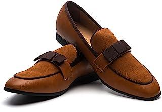 JITAI Mocasines De Moda para Hombre Zapatos Casuales Y Mocasines De Fiesta Zapatos Castellanos