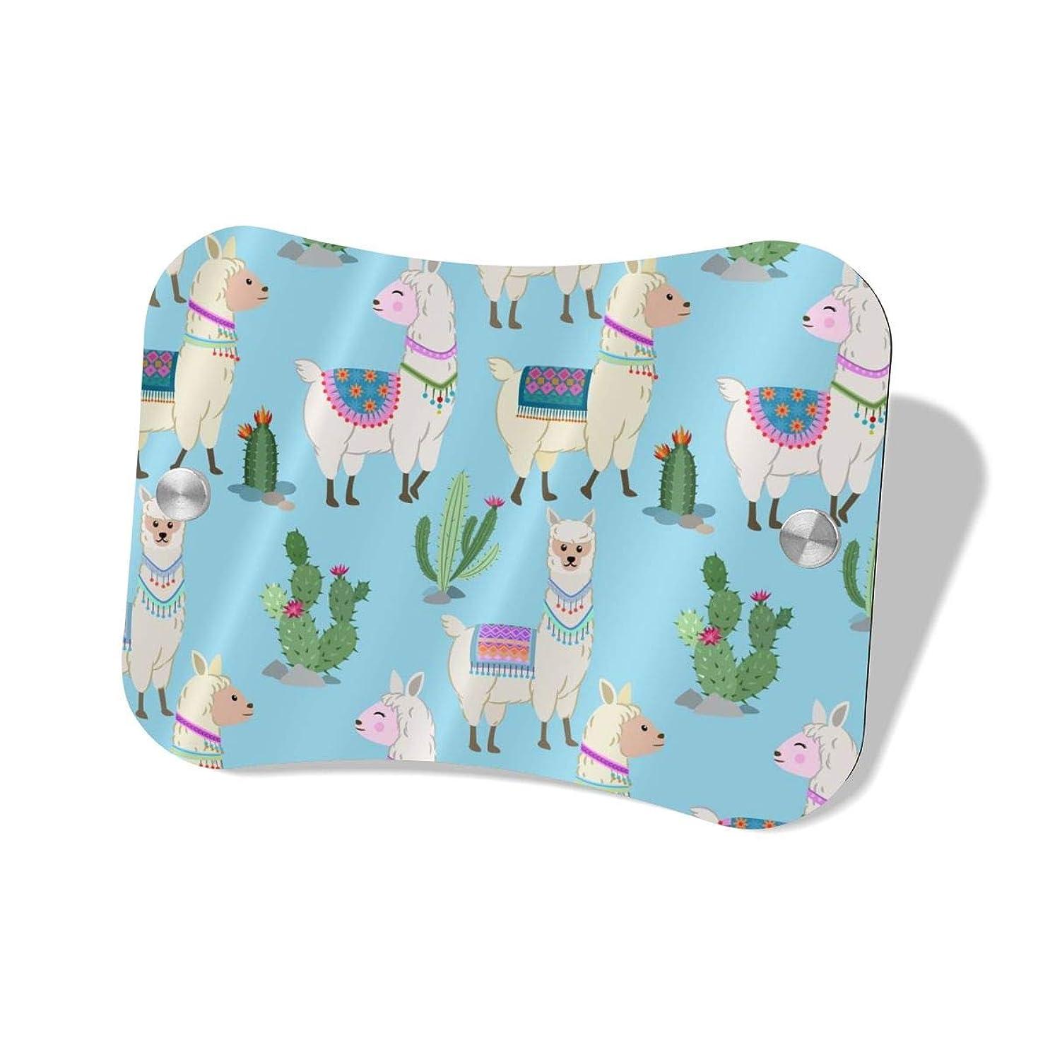 ペインティング妖精思いやりHappy Llama And Cactus ハイエンドのファッションシンプルで絶妙な人気の枕形の表札