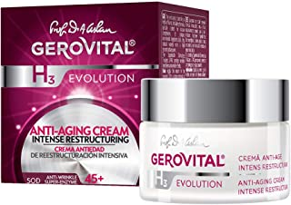 GEROVITAL H3 EVOLUTION, Anti-Aging Cream Intensive Restructuring With Superoxide Dismutase (The Anti-Aging Super Enzyme) 4...