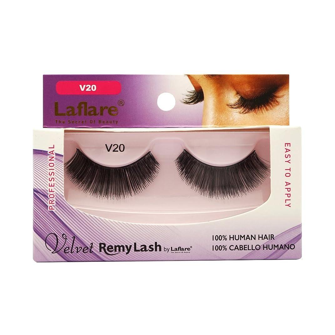 亡命バイソンアノイLAFLARE Velvet Remy Lash - V20 (並行輸入品)