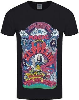 Unbekannt Led Zeppelin Herren T-Shirt Full Colour Electric Magic schwarz