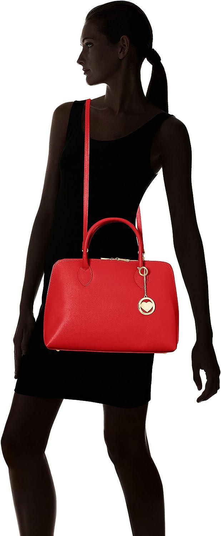 Chicca Borse Cbc3314tar, Sac à Main Femme, 12x27x37 centimeters (W x H x L) Rouge (Rosso)
