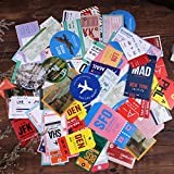 Lychii pegatinas para álbumes de recortes, 120 pegatinas de papel de decoración, pegatinas adhesivas de diseño Vinatge para álbumes de recortes de manualidades, planificador de calendario, bricolaje