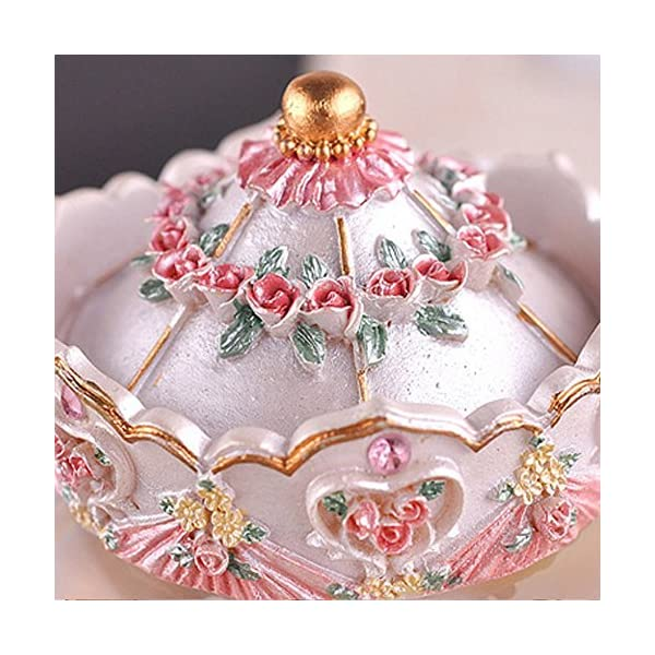 Luxury Carousel Music Box Crystal Ball Music Box with Castle in the Sky Tune Creative Home Decor Ornament Gifts Perfect… 8