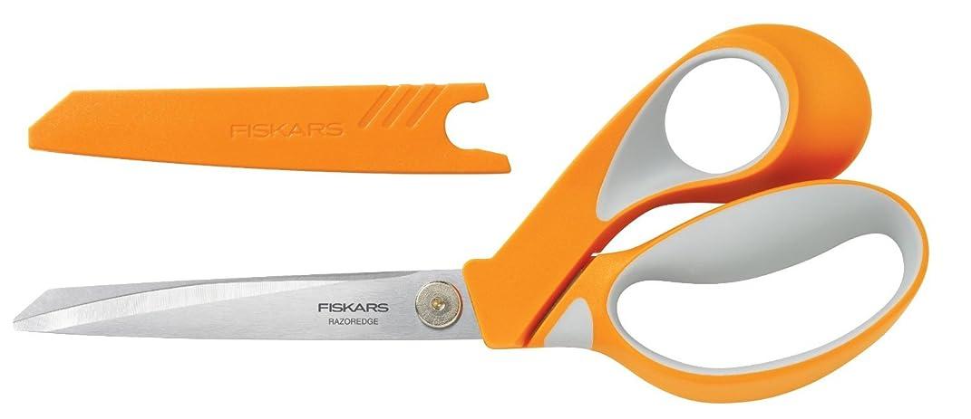 Fiskars Crafts 8195 RazorEdge Softgrip Fabric Shears, 9-Inch
