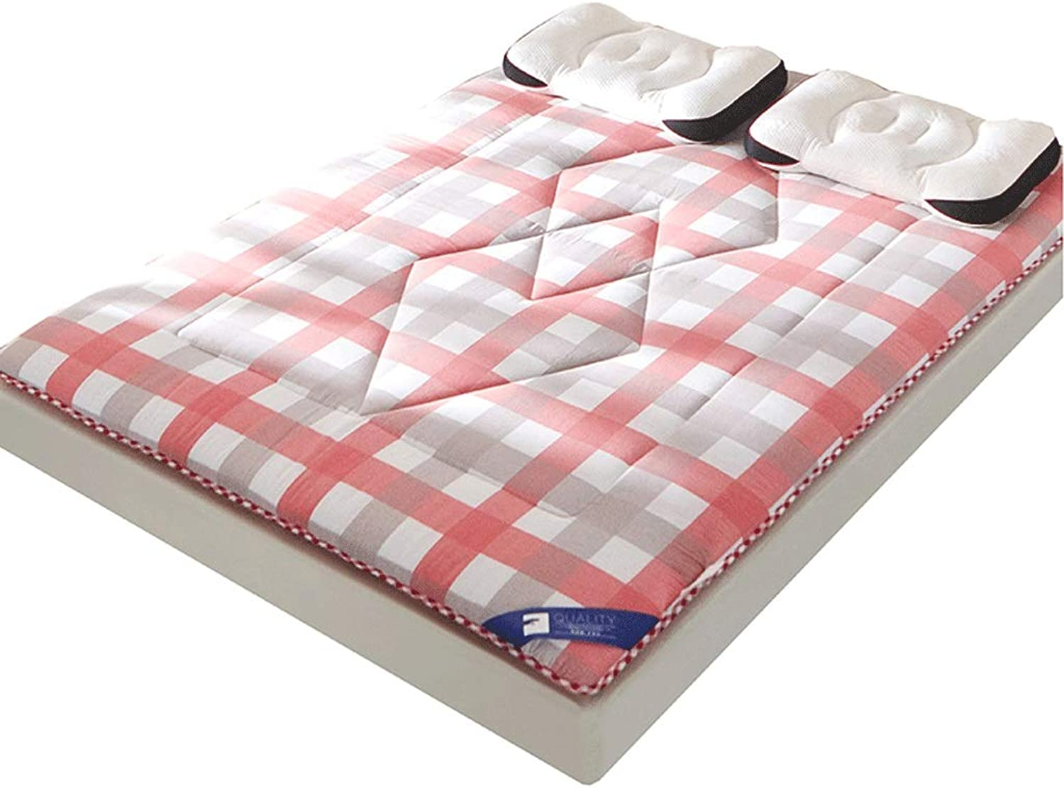 Cotton Mattress, Thickened Student Dormitory Sponge Pad, Household Bedding (color   B, Size   100x200cm)