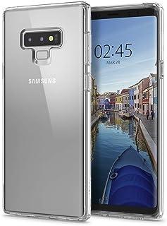 【Spigen】 スマホケース Galaxy Note9 ケース [ SC-01L SCV40 ] 対応 背面クリア 耐衝撃 米軍MIL規格取得 ウルトラ・ハイブリッド 599CS24573 (クリスタル・クリア)