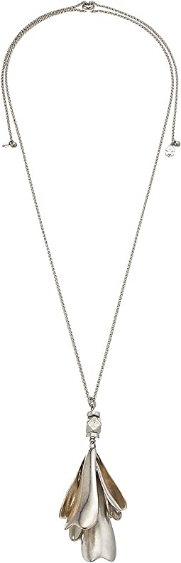 Lucky Brand - Petal Pendant Necklace