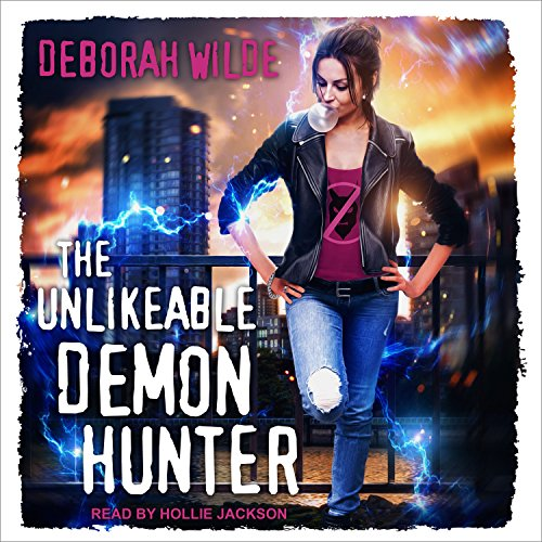 The Unlikeable Demon Hunter audiobook cover art