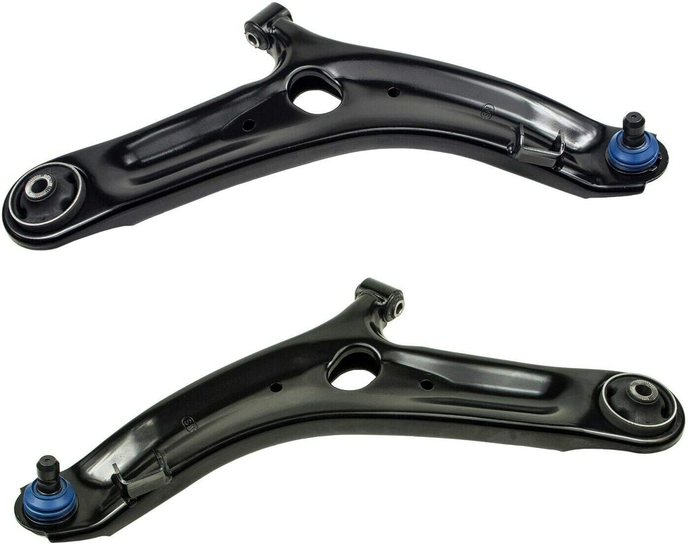 Pair Set New color of 2 Front Limited time sale Lower Arm Compatible Joints Ball Control w