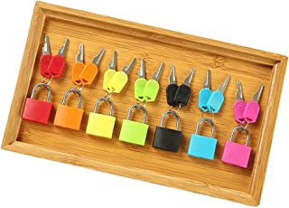 Montessori Color Matching Lock Set Locks And Keys Toy For Toddlers Preschool Practical Life Material Wooden Tray