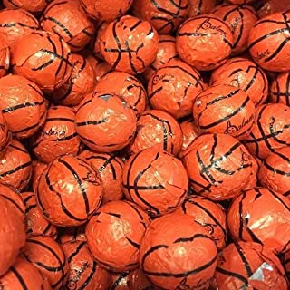 Chocolate Covered Basketballs - Bulk Chocolate Basketball Candy - 3 Pounds - Approximately 240 Pieces
