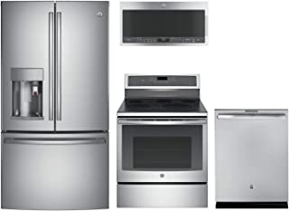 GE Profile4-Piece Kitchen Package with PFE28PSKSS 36
