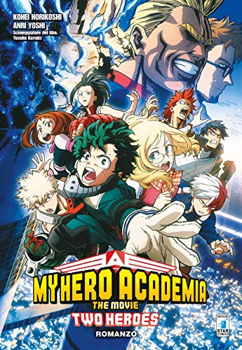 Two heroes. My Hero Academia the movie. Con Poster