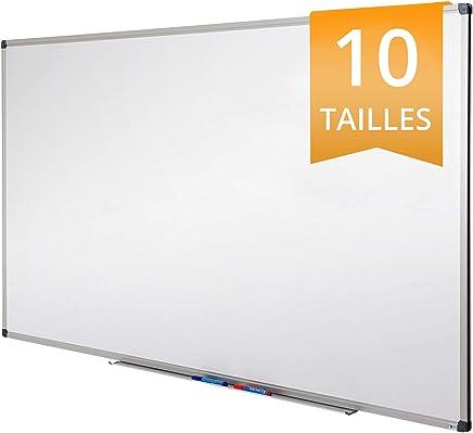 Tableau Blanc Office Marshal®   Tableau Magnétique Élu Meilleur Rapport Qualité/Prix   Tableau Effaçable Aimanté   Série PRO, 60x90cm