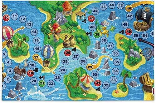 Rompecabezas de 1000 piezas del juego de mesa de la isla del...