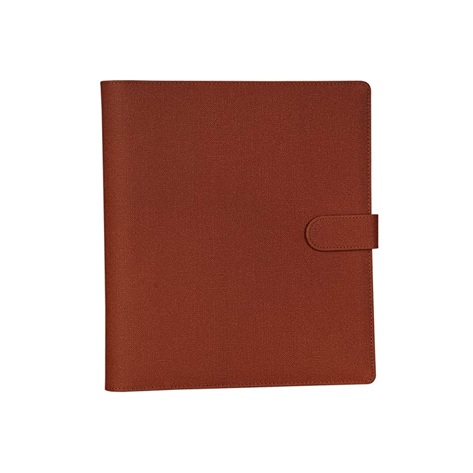 Yikuo Album 6-inch Album Insert Type Plastic Photo Family Album Simple Retro Wind Large Capacity Romantic Album (Color : Red)