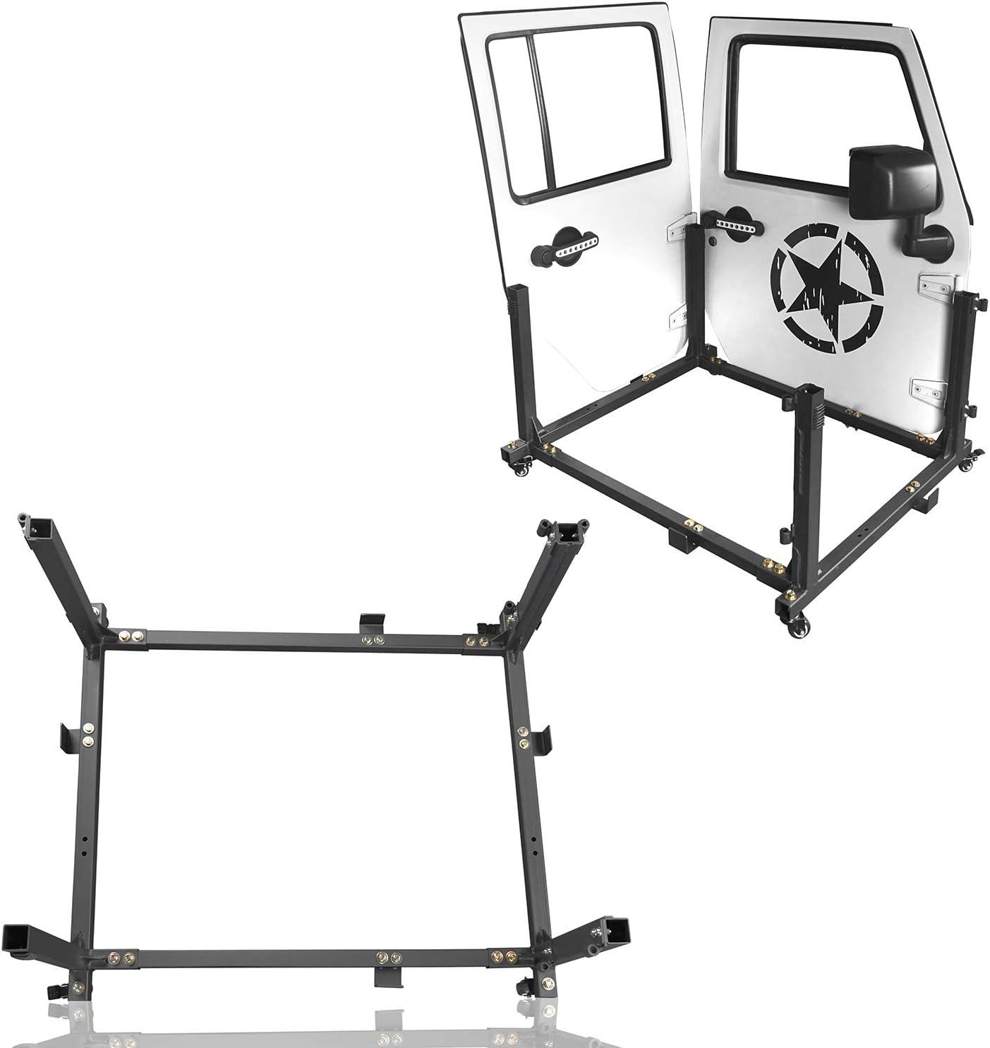 u-Box 5%OFF for Jeep Wrangler Door 初回限定 Ho Cart Storage Hanger Movable