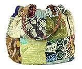 Guru-Shop Hippie Tasche, Patchwork Shopper, Schultertasche, Herren/Damen, Mehrfarbig, Baumwolle,...